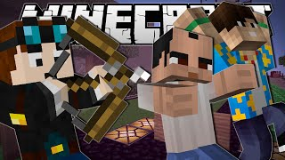 Download Minecraft | 1 ARROW, 3 KILLS!! | One in the Quiver Minigame Video