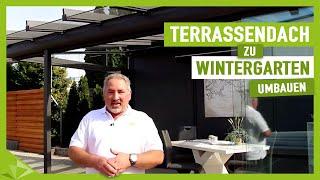 Download Terrassenüberdachung zum Wintergarten erweitern - Ambitop Terrassendach Video
