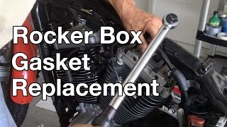 Download How To: Harley Davidson Sportster Rocker box gasket replacement. part 1 Video