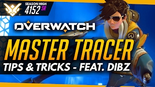 Download Overwatch   Master Tracer ft Dibz - Tips and Advice (Guide) Video