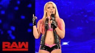Download Alexa Bliss crashes Sasha Banks' Raw Women's Title celebration: Raw, Aug. 21, 2017 Video