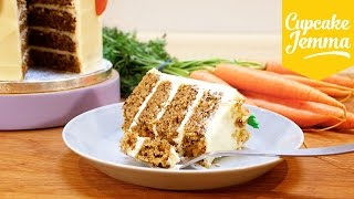 Download The BEST Carrot Cake You'll Ever Make - FACT! | Cupcake Jemma Video