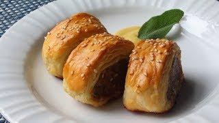 Download Sausage Rolls Recipe - How to Make Sausage Rolls Video