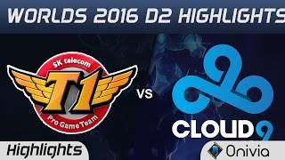 Download SKT vs C9 Highlights Worlds 2016 D2 SK Telecom T1 vs Cloud9 Video
