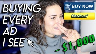 Download Buying EVERY Advertisement I See! ($1,000 CHALLENGE)   AYYDUBS Video