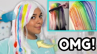 Download Beauty Busters: I Tried The Drip Dye Method! (SCARY!) Video