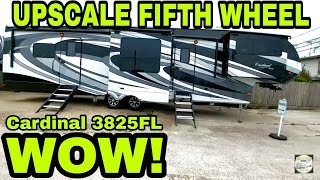 Download Upscale Cardinal Fifth Wheel! High end features! Video