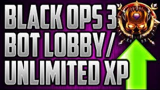 Download BO3 XP BOT Lobby GLITCH -TUTORIAL- INSANELY EASY!!! PS4..4 Xbox1 Read desc Video