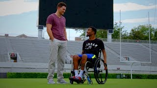Download Former Football Players Devon Gales and Marshall Morgan Find Friendship in Tragedy Video
