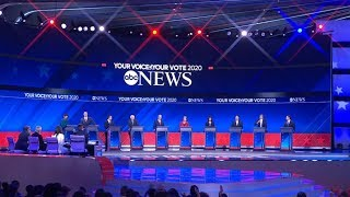Download Big moments in the Democratic debate, Bahamas relief effort, Felicity Huffman and more   ABC News Video