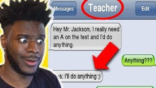 Download THE FUNNIEST TEACHER STUDENT TEXTS EVER! Video