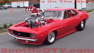 Download 1969 Camaro SS Twin Turbo Supercharged Nitrous Breathing Monster Video