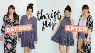 Download LET'S MAKEOVER SOME THRIFT STORE DRESSES! Video