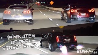 Download GT-R vs the WORLD + NASTY Flame Throwing CTS-V Lines Up With EVERYTHING!!! Video