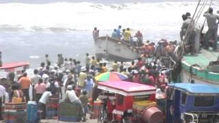 Download Distrito de Pescadores Santa Rosa Chiclayo - Perú Video