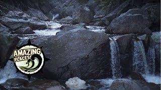 Download Huge Waterfall in Fundy National Park! Video