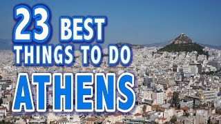 Download 23 BEST THINGS TO DO IN ATHENS, GREECE ♥ Top Attractions of Athens Video