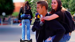 Download Picking Up Girls While Riding A Hoverboard!! Video
