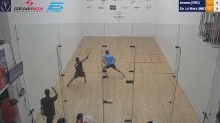 Download 2018 Racquetball World Championships - Men's Singles 16s - Acuna CRC vs De La Rosa MEX Video