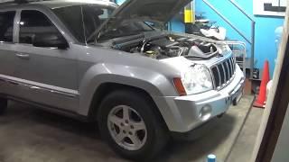 Download Jeep Grand Cherokee 2005 falla al encender y en ralenti. DTC P0068 Video