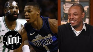 Download Paul Pierce has a message for Dennis Smith Jr. when it comes to Kyrie Irving   The Jump   ESPN Video
