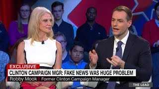 Download Trump and Clinton aides discuss fake news Video