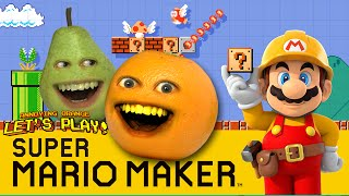 Download Annoying Orange and Pear Plays - Super Mario Maker: THUNDERWEAR! Video