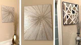 Download ZGallerie Inspired DIY || 💕 Wall Art || Decorate For Less 💕 Video