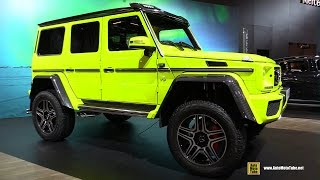 Download 2017 Mercedes G550 4x4 Squared - Walkaround - 2017 Montreal Auto Show Video