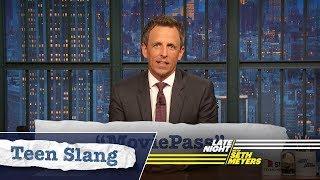 Download Seth Explains Teen Slang: Barack Obama, MoviePass Video