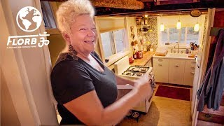 Download SINGLE MOTHER Builds TINY HOUSE to Create RETIREMENT PLAN Video