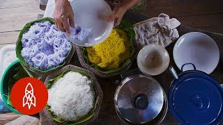 Download Thailand's Purple Noodles Offer a Tasty Tradition Video