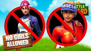 Download If GIRLS were banned from FORTNITE! Video
