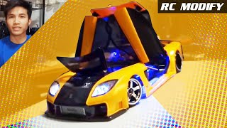 Download RC Modify 11 Part 1   Mazda RX-7 VeilSide [English] Video