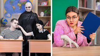 Download The Addams Family At School! / 9 DIY The Addams Family School Supplies Video