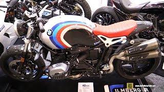 Download 2018 BMW R Nine T Scrambler Ilmberger Carbon Customized - Walkaround - 2017 EICMA Video