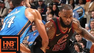 Download Cleveland Cavaliers vs Oklahoma City Thunder Full Game Highlights / Feb 13 / 2017-18 NBA Season Video