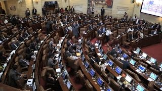 Download Colombian Congress ratifies peace deal with FARC Video