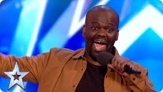 Download Hilarious comedian has the BGT Judges in stitches | Unforgettable auditions on Britain's Got Talent Video
