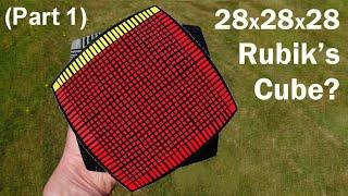 Download 28 x 28 x 28 Rubik's Cube Puzzle ? (part 1) Video