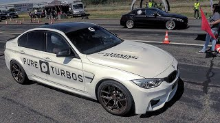 Download 700HP BMW M3 F80 w/ PURE TURBOS vs 700HP Mercedes AMG C63S Video