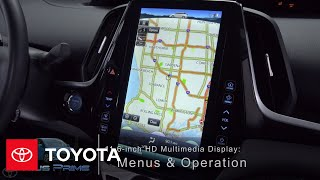 Download Toyota How-To: Prius Prime 11.6-inch HD Multimedia Display – Menus and Navigation | Toyota Video