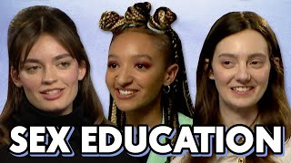 Download Sex Education Cast On Maeve and Otis' Relationship In Season 2   PopBuzz Meets Video