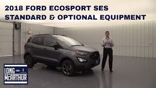 Download 2018 FORD ECOSPORT SES STANDARD & OPTIONAL EQUIPMENT Video