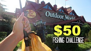 Download $50 Bass Pro Shops Fishing Challenge!! (Craziness!) Video