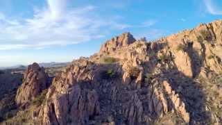 Download Dragoon Mountains, AZ - Aerial Video Video