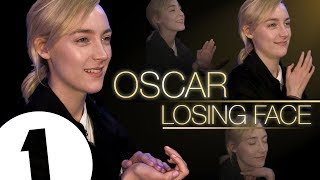 Download Saoirse Ronan practices her 'Oscar Losing Face' Video