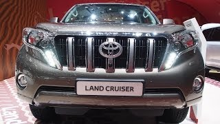 Download 2014 Toyota Land Cruiser Prado 150 - Exterior and Interior Walkaround - Geneva Motor Show 2014 Video