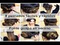 Download 8 Peinados rápidos y sencillos - peinados con moños y trenzas Video