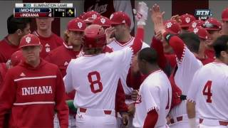Download Logan Sowers Puts Indiana in the 4-3 Lead vs. Michigan Video